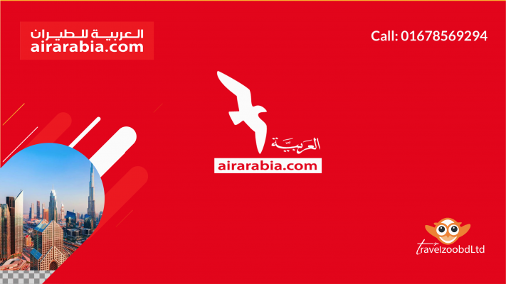 Air Arabia Sales Office In Dhaka