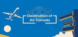 Air Canada Airlines Destination
