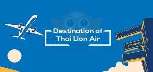 Destination of Thai Lion Air